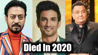 Bollywood Star Who Died In 2020