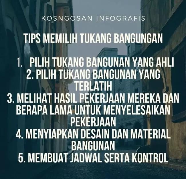 tips tukang bangunan