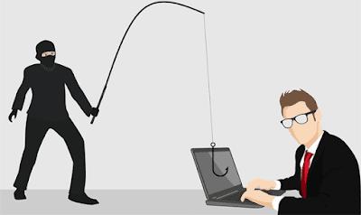 ilustrasi pencurian di dunia maya sosial media