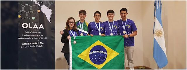 Brasil é 1° lugar na Olimpíada Latino-Americana de Astronomia e Astronáutica - outubro