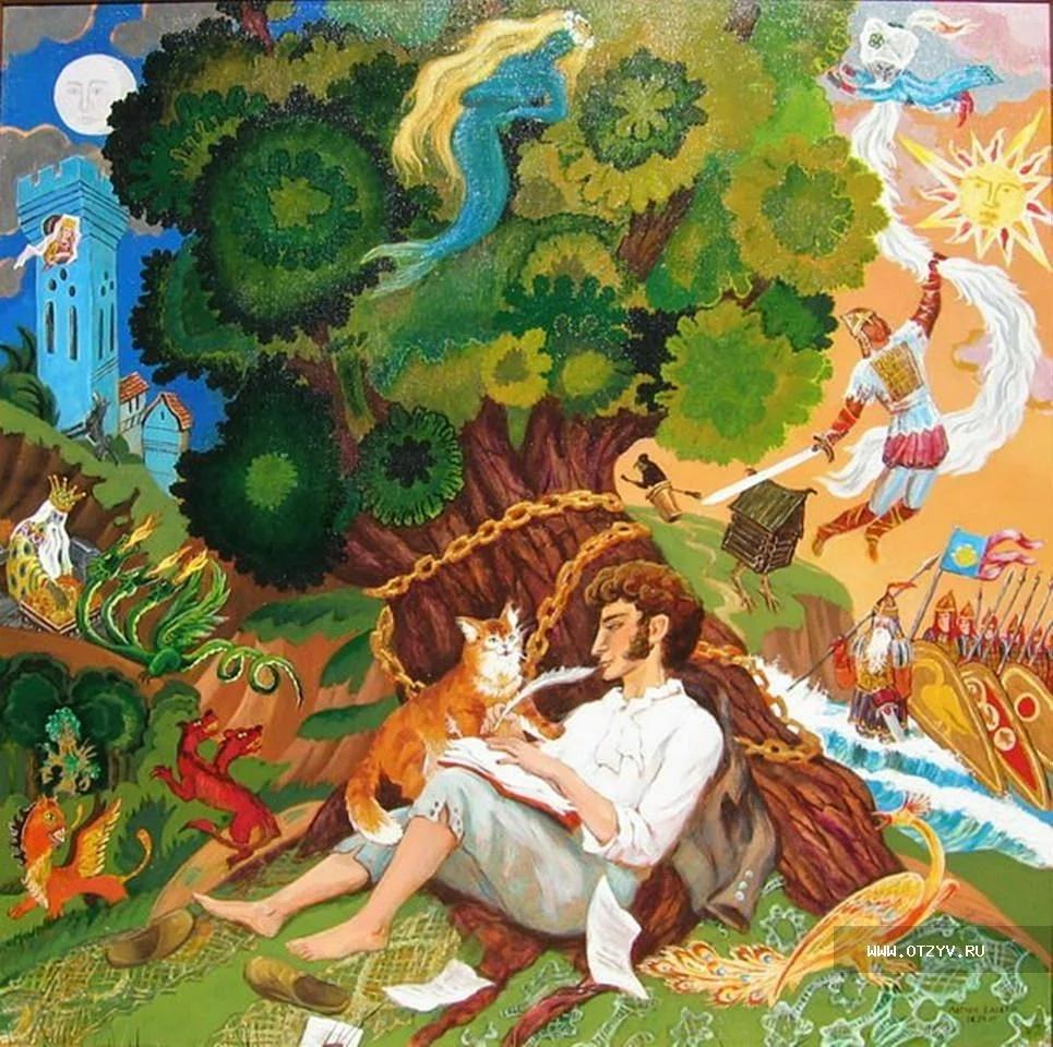 Марта картинка, картинки со сказок а.с.пушкина