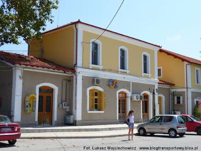 Stacja Katerini - budynek dworcowy