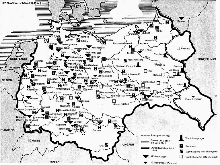 Landkartenblog Orte Des Terrors Und Der Vernichtung
