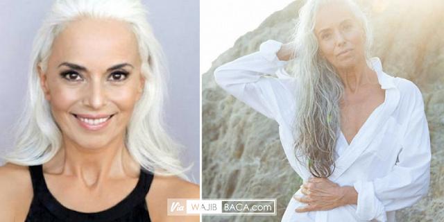 Jadi Model Iklan Bikini, Nenek Usia 61 Tahun Ini Bikin Iri Gadis Masa Kini!