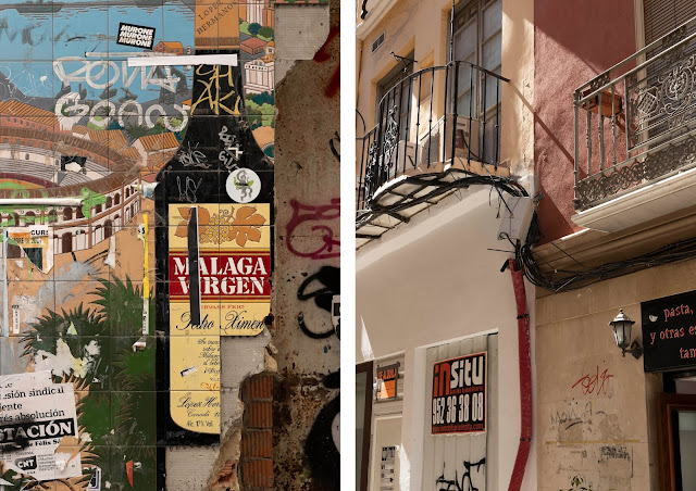everyday street details in malaga