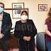 Directiva de Centro Médico San Rafael realiza visita protocolar a alcaldesa de Pelluhue