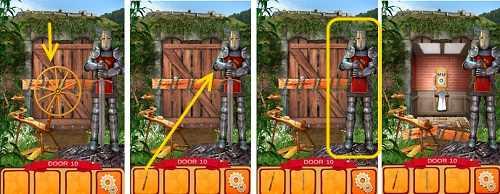 100 дверей мир истории отбираем меч у рыцаря 10 уровень