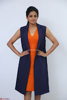 Priyamani in Beautiful Short Deep neck Orange Dress ~  Exclusive 36.JPG