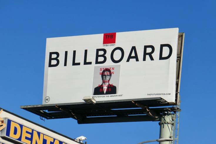 Steven Wilson Future Bites billboard