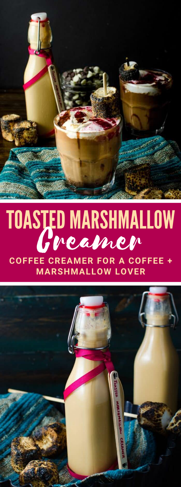 Toasted Marshmallow Creamer For Your Coffee (DF friendly Coffee Creamer) #drinks #dairyfree