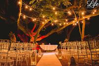 casamento com cerimônia ao ar livre na casa da figueira em porto alegre com decoração estilo rústico por life eventos especiais
