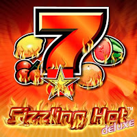Fruits and sevens from Sizzling Hot Deluxe slot game