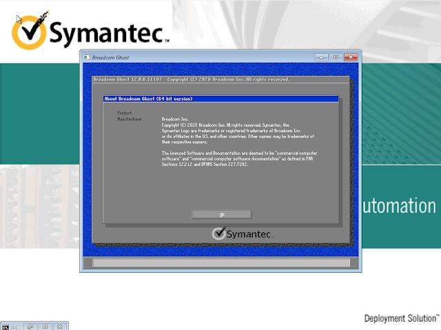 Symantec Ghost Boot CD