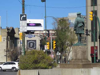 Portage & Main, Winnipeg, Manitoba.