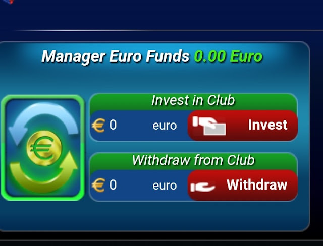Withdraw Euro to GoalTycoon Manager Fund