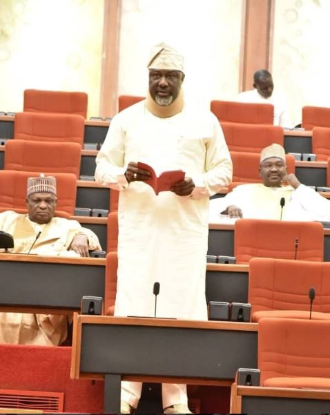 I Changed My Seat At The Senate Because I Saw Lion, Tiger And Snakes On It – Dino Melaye