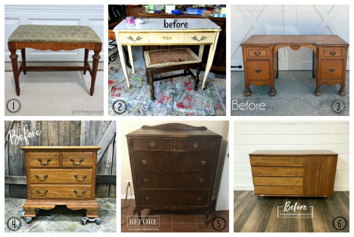 Furniture Fixer Uppers Before