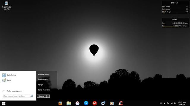 UPDATE JULIO Windows MiniOS 7 v2017.07  - Una mirada al futuro / El OS para Pc de pocos recursos definitivo 2017