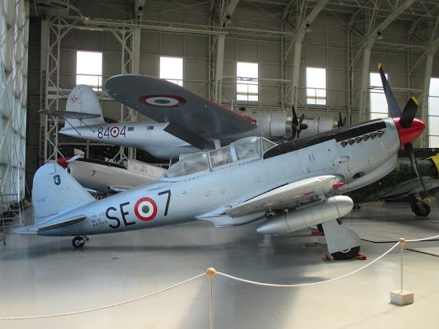 1/144 Museo Dell'Aeronautica Militare diecast metal aircraft miniature
