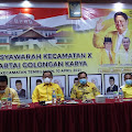 Rampungkan Muscam 2 PK Golkar, Wardan Tegaskan Akan Dukung Kader Terbaik Dalam Pilkada Inhil 2024.