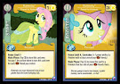 My Little Pony Fluttershy, Friend to Animals Canterlot Nights CCG Card