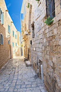 An Alley Inside Jaffa Old City
