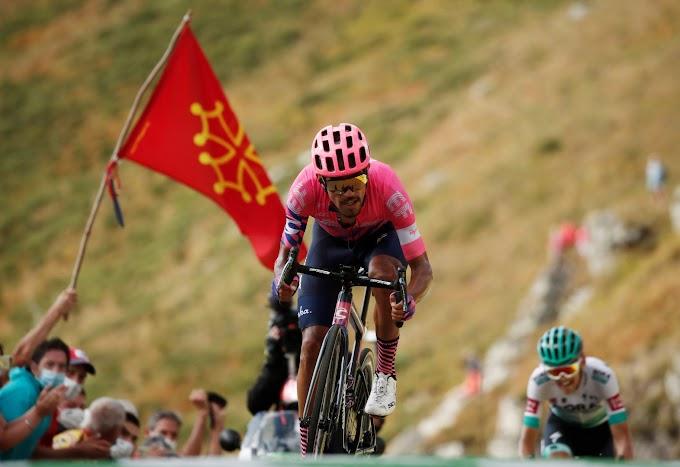 Martínez hegyi befutós sikere, Roglic növelte előnyét a Touron