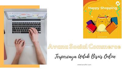 avana social commerce untuk bisnis online