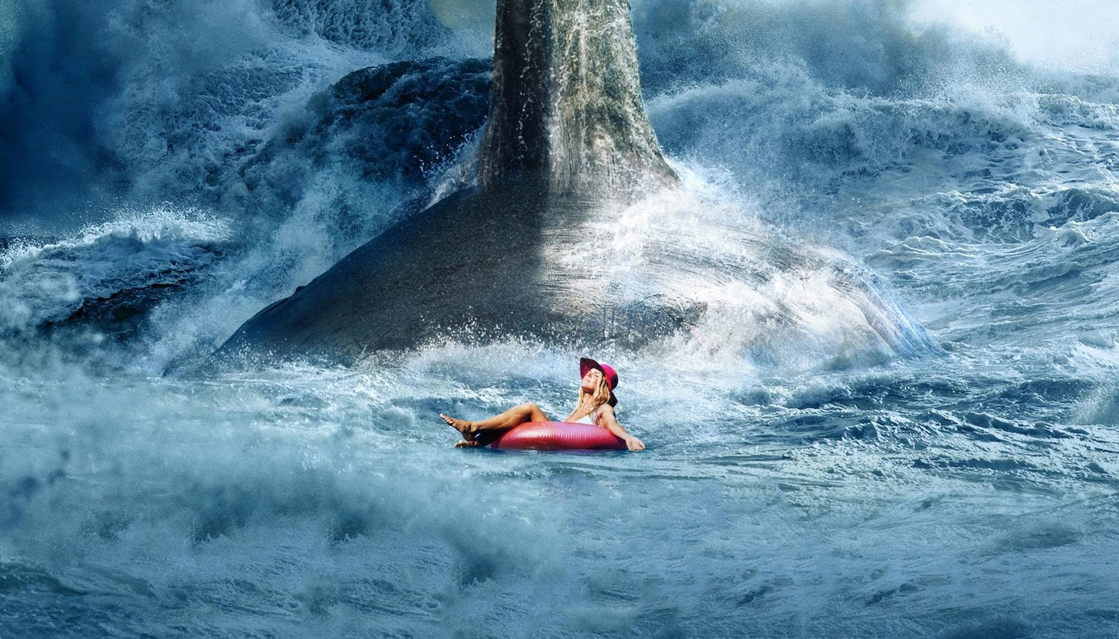 "Phim The Meg ""Cá Mập Khổng Lồ"" Megalodon Thời Tiền Sử 2018"