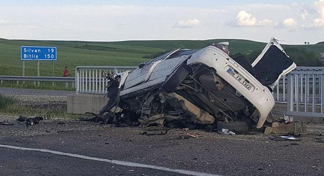 Diyarbakır Silvan'da kaza: 3 ölü