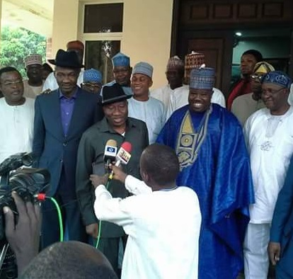 Ali Modu Sheriff Visits Jonathan