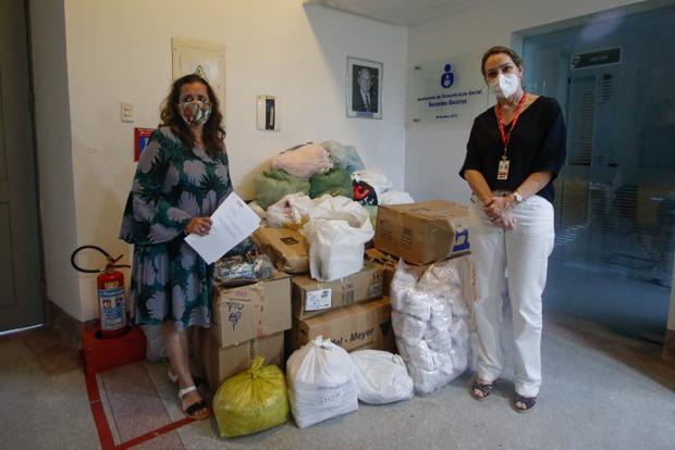 Empresas do Polo de Confecções de Pernambuco doam mais de 20 mil máscaras de proteção ao IMIP