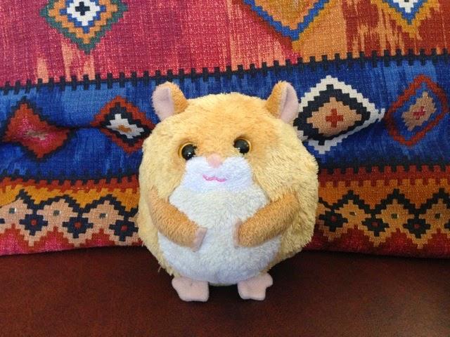 Hamster Pushy Thanks!