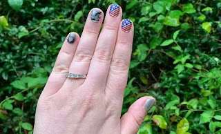 american mani nails