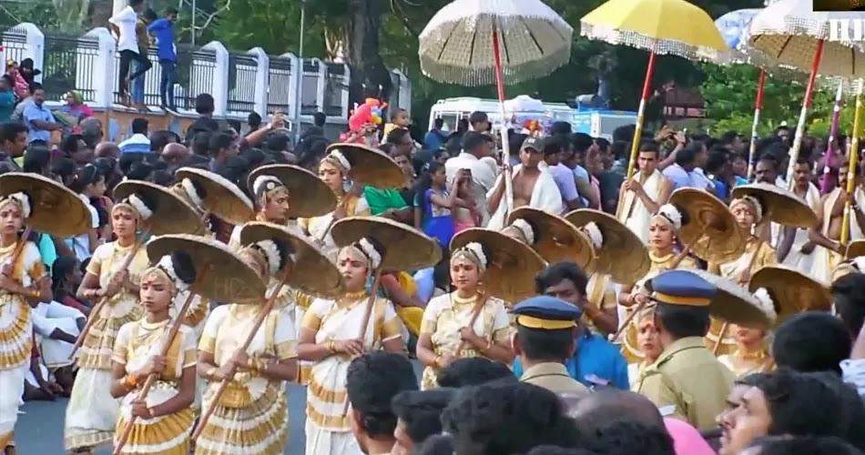 Onam Ghoshayathra at Thiruvananthapuram