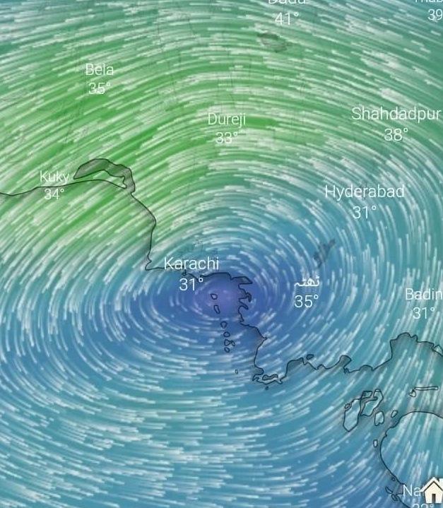 موسم کی معلومات کراچی والوں کے لئے اچھی خبر