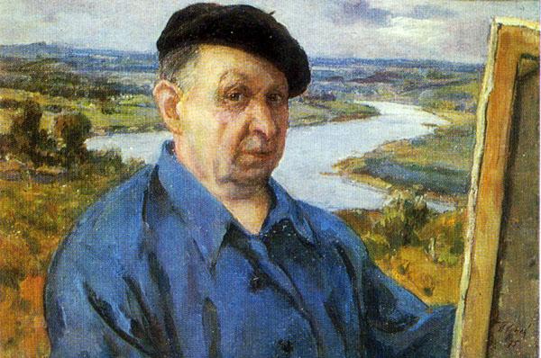 Krylov Porfiri, Autoportrait, La galerie des Offices, Florence, Italie