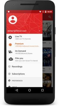 شرح وتحميل تطبيق FilmOn Free Live TV للأندرويد