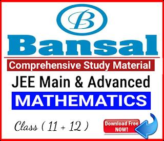 Bansal Mathematics Comprehensive Study Material