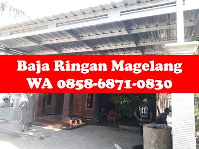 Harga Baja Ringan Cilegon Steel Per Batang Pabrik Wa 0858 6871 0830 Daftar