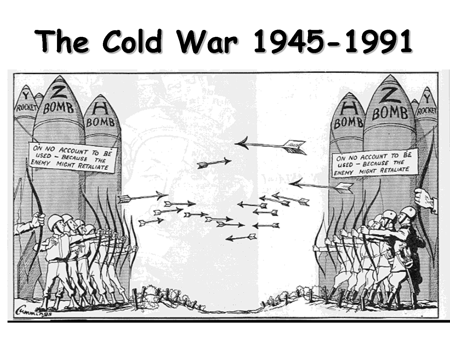 Cold War And Current World