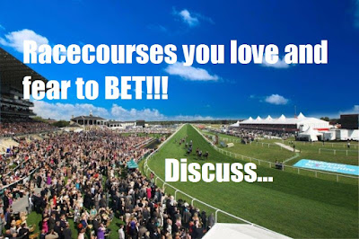 Racecourse you love and hate to BET