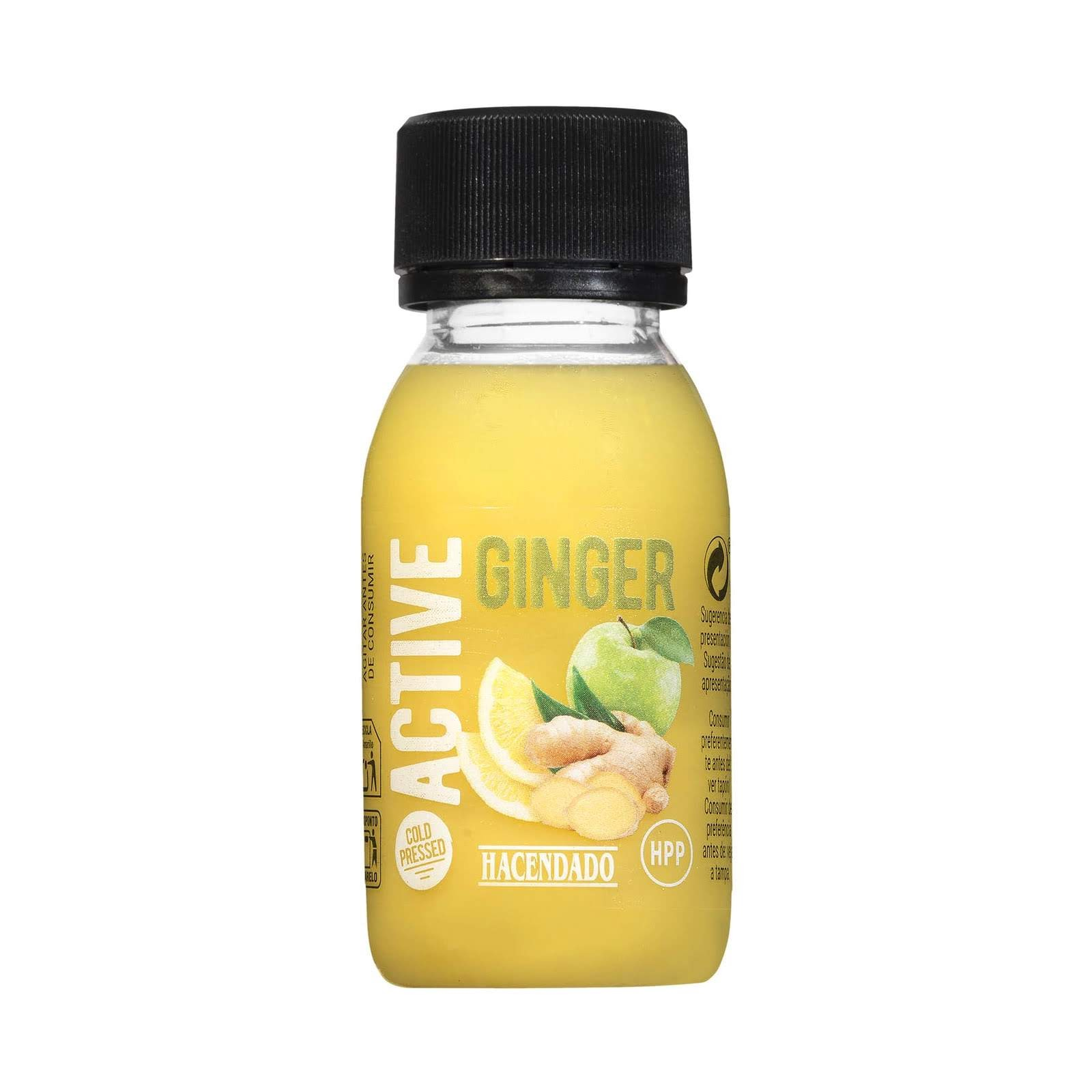 Shot active ginger Hacendado