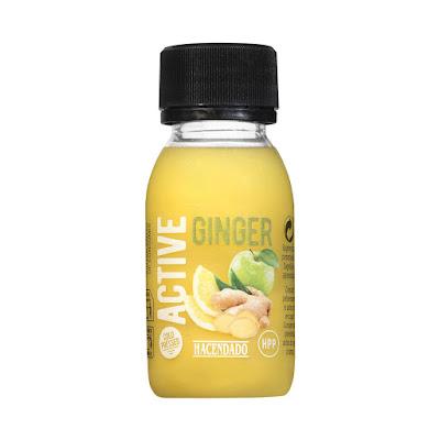 Shot active ginger Hacendado