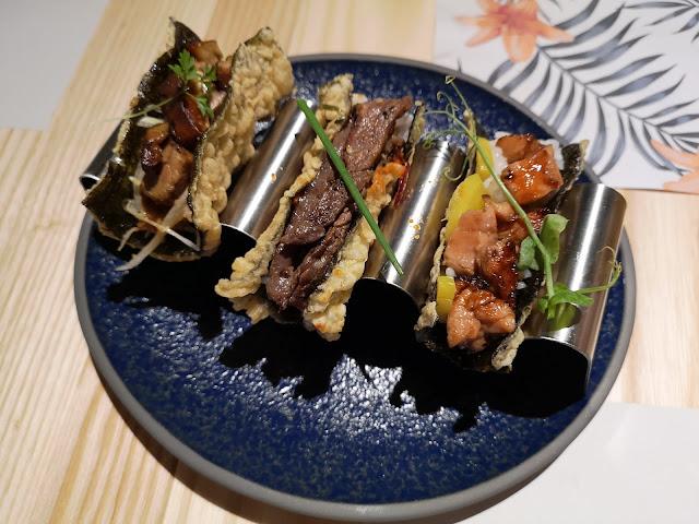 Cicada's Nori Tacos