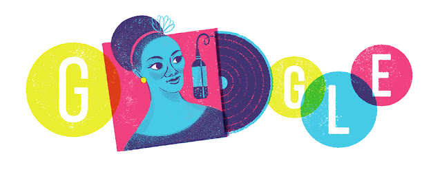 Carmen Costa's 96th Birthday - Google Doodle