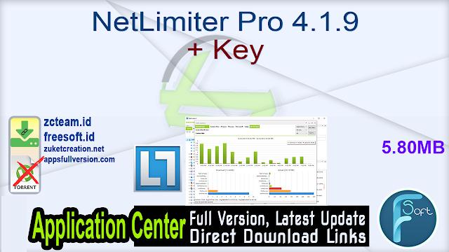 NetLimiter Pro 4.1.9 + Key_ ZcTeam.id