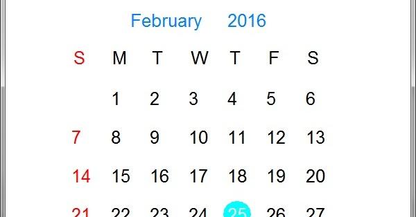 Visual Calendar : Visual C++ - JustdoCodings