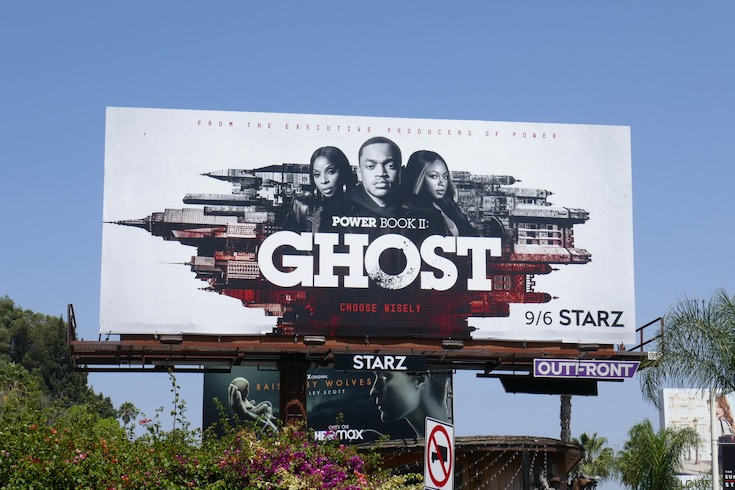 Power Book II Ghost billboard