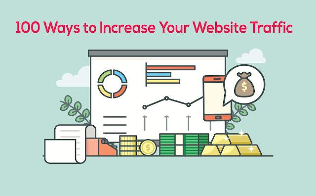 100 Ways to Increase Your Website Traffic (www.getwebinfo.com)